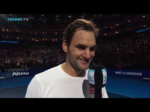Federer Explains The Benefits Of Having His Back Against The Wall At Nitto ATP Finals 2018