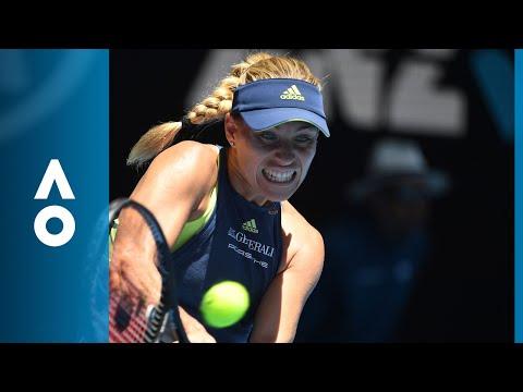 Angelique Kerber v Anna-Lena Friedsam match highlights (1R) | Australian Open 2018