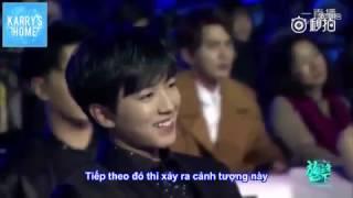 [Vietsub] 161225 - Nãi ca kể lại chuyện cùng Tiểu Khải đi uống cafe  [Mobile video festival]