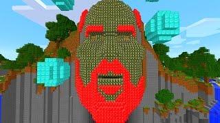 Minecraft CAMO Lucky Block Temple Of Notch Mod Challenge