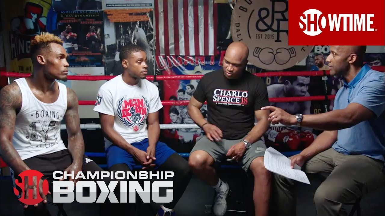 Errol Spence, Jermell Charlo & Derrick James: Dallas Round Table | SHOWTIME CHAMPIONSHIP BOXING