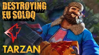 Destroying EU SoloQ Griffin Tarzan - Graves Jungle - KDA 1948
