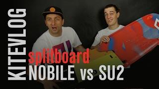 Recenzja desek SPLIT NOBILE vs SPLIT SU2 | KiteVlog