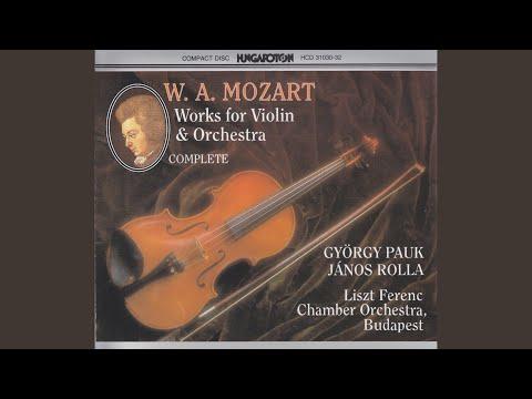 Concerto No. 1 in B flat major K.207 I. Allegro moderato