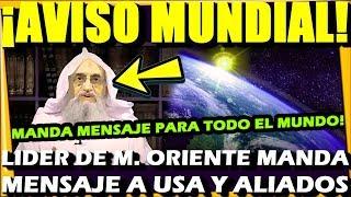 ¡ MUCHO OJO CON ESTA INFORMACION ! LIDER DE ORDEN MANDA RECADO PARA TODO EL PLANETA TIERRA