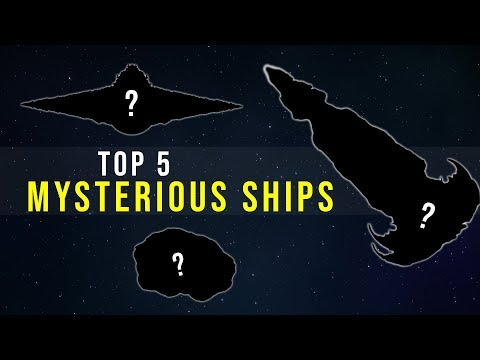 5 Mysterious and Unexplained Ships | Star Wars Legends Top 5
