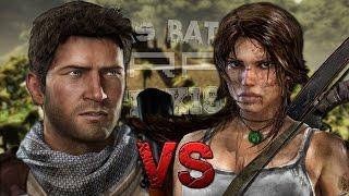 Nathan Drake vs Lara Croft. Épicas Batallas de Rap del Frik...