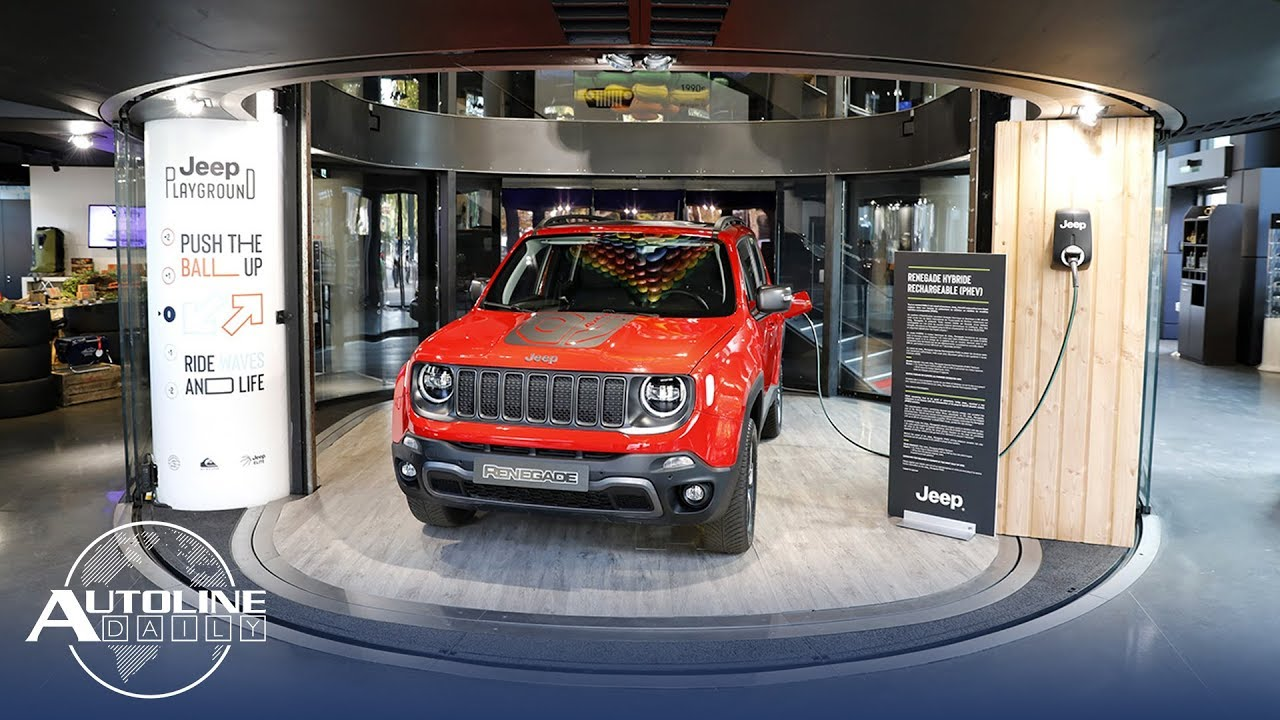 Jeep Renegade Plug In Hybrid Trump Fights California Over Emissions Autoline Daily 2670 Youtube