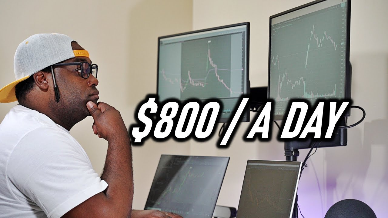 When To Scalp And When Not To Scalp - Live Scalping $800 A Day
