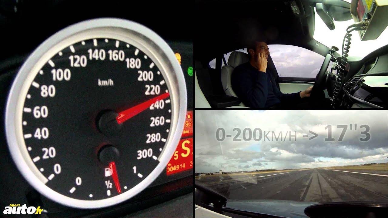 300 Km H En Bmw X6 M Youtube