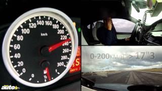 300 km/h en BMW X6 M