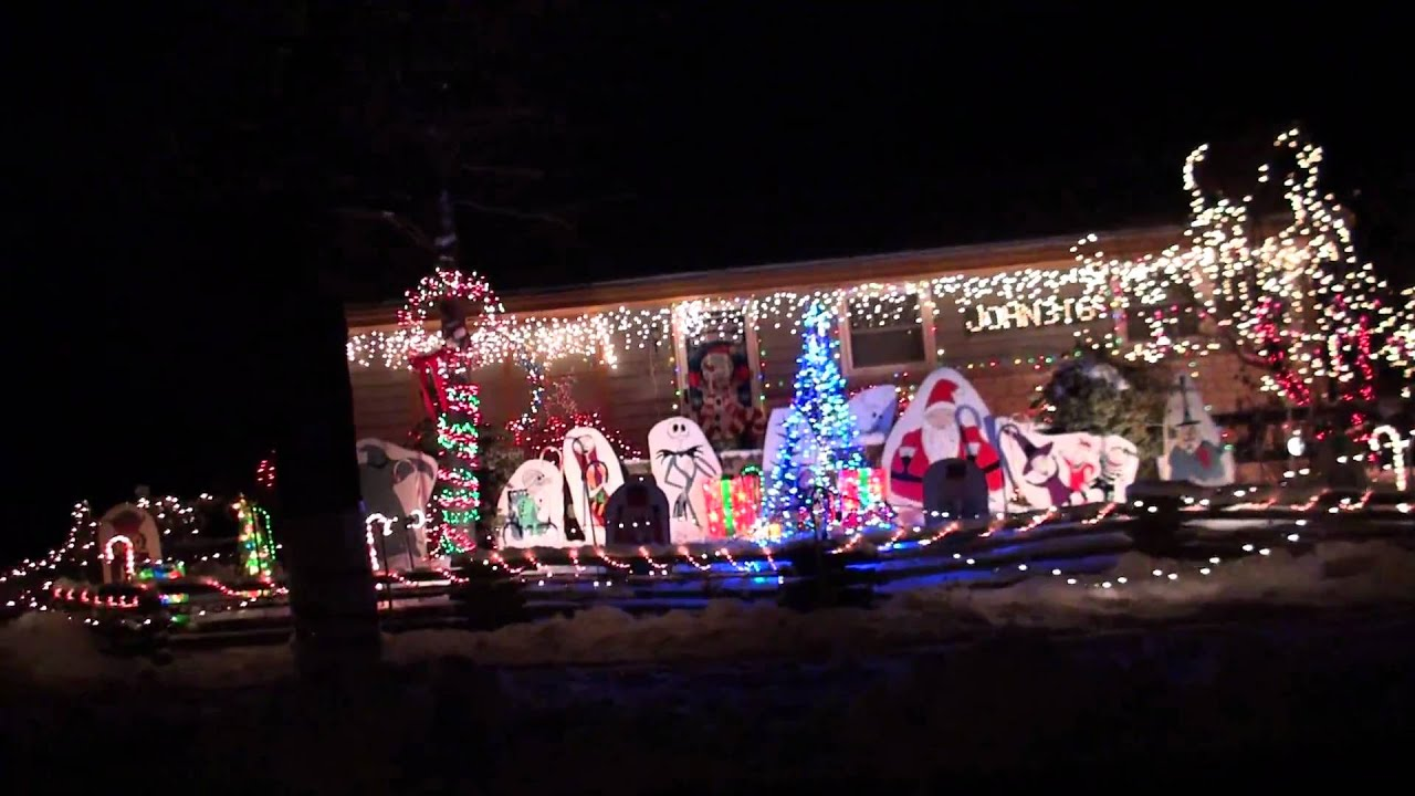 Candy Cane Lane in West Allis, WI - YouTube