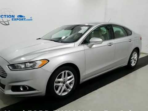 Used 2016 FORD FUSION For Sale in USA, Shipping to UAE