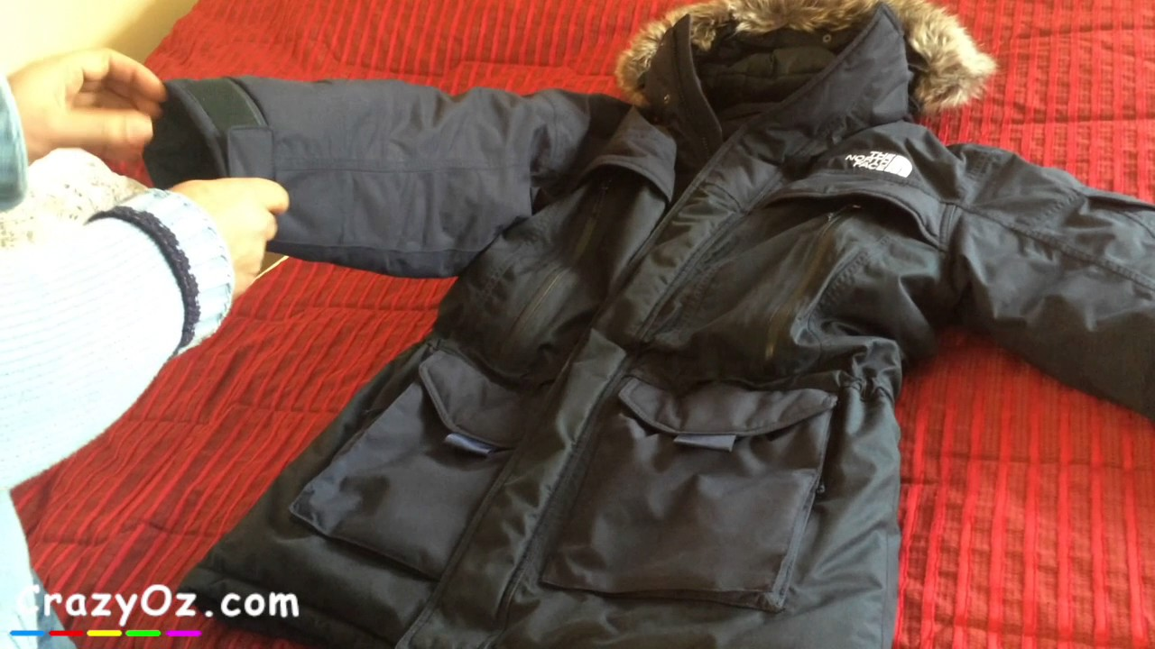 95a435c61e The North Face Mens McMurdo 2 parka review - YouTube