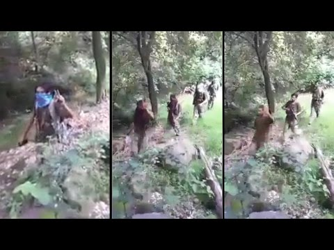 Pakistani terrorists spotted in PoK, shouting Burhan as their surname; Watch| वनइंडिया हिंदी