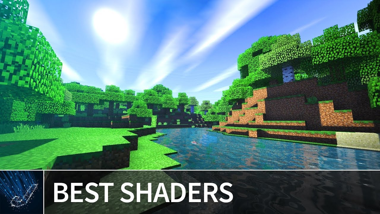 Minecraft PE: TOP 5 BEST SHADERS 2018 for iOS & Android - Shaders Texture  Pack MCPE 1 7 / 1 6 / 1 5