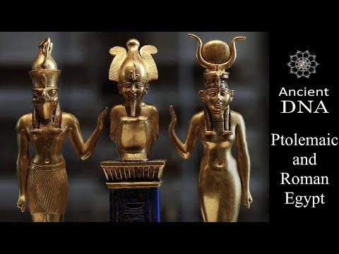 The Genomic History of Roman Egypt