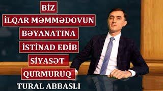 """""""Qurban Məmmədovla yazışmamız 2-mizə aiddir, 3-cü şəxs bilməməlidir""""-Tural Abbaslı"""