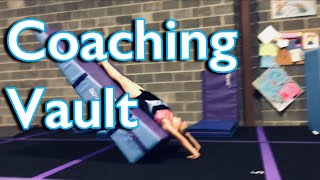 How to Coach Beginner Gymnastics Vault: Drill Stations