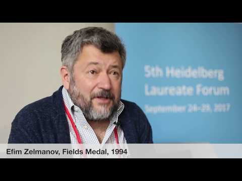Laureate interviews at the 5th HLF: Efim Zelmanov