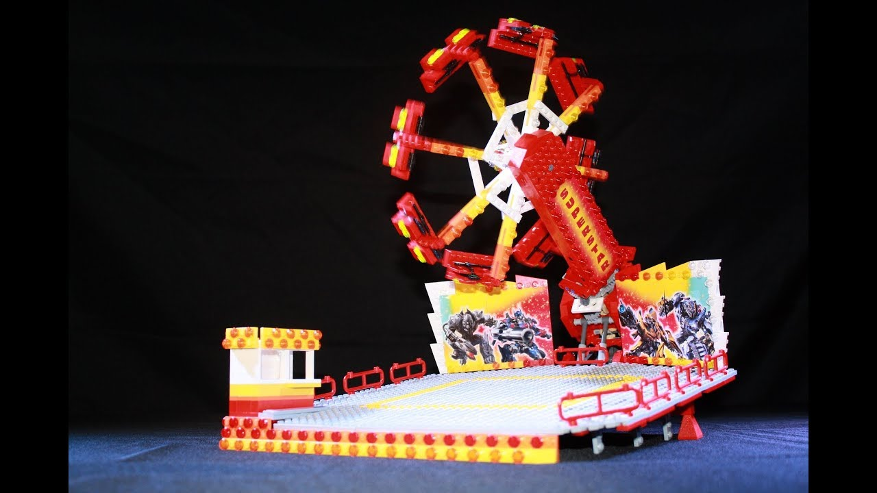 Trailers For Less >> LegoRides Super Star *** Manège / Attraction foraine en Lego *** - YouTube
