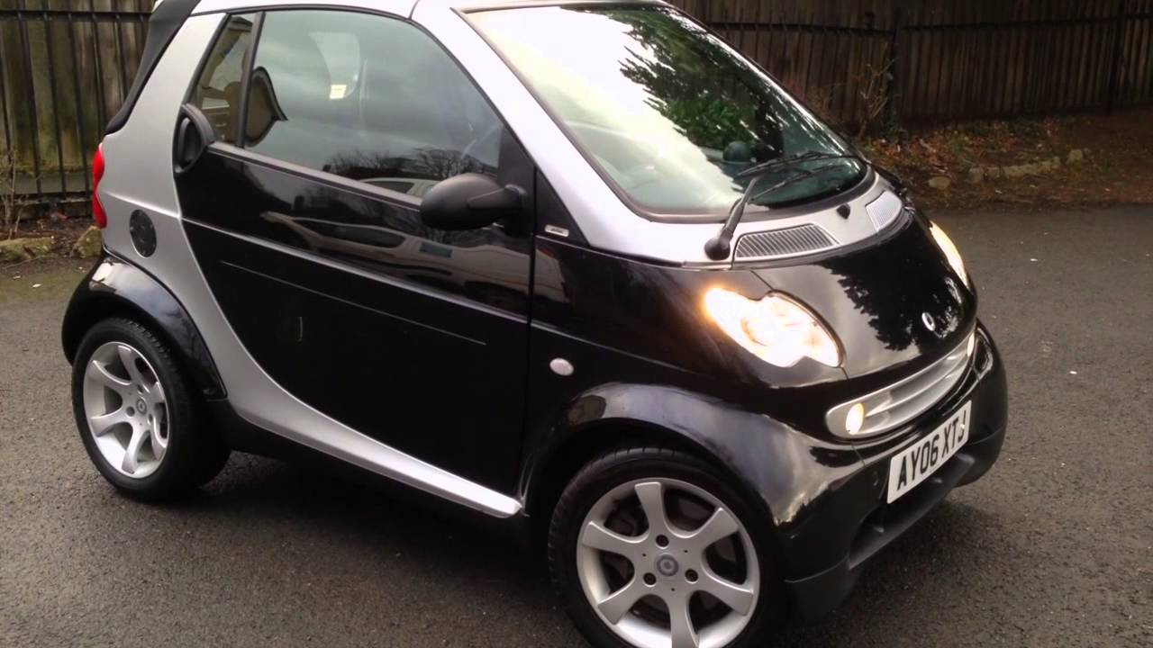 2006 Smart Cabriolet Fortwo Pulse Youtube