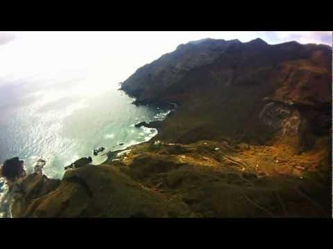 VOLANDO SOBRE CANARIAS - DEL FARO DE ANAGA A SAN ANDRÉS - TENERIFE