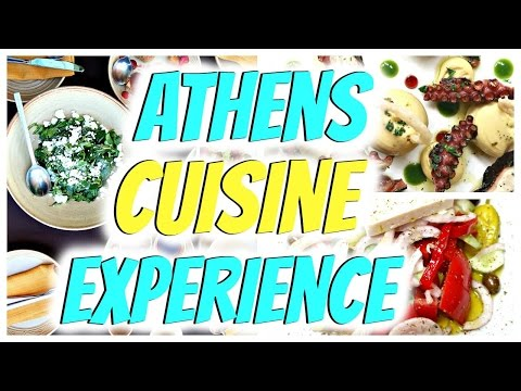 Athens Cuisine Experience | 3 Trendy Restaurants in Athens Greece