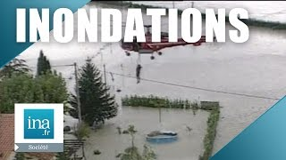 Inondations dans le Vaucluse | Archive INA