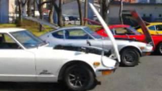 色違いのZ432が4台集まりました。その様子とその中の一台、オリジナル車...
