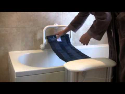 Molly Bather bath lift - battery care and cleaning - YouTube
