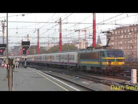 HLE 21 59 met M4 komt aan in Brussel Zuid