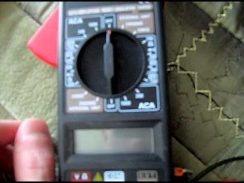 Мультиметр Meter 266 Clamp Инструкция - фото 2