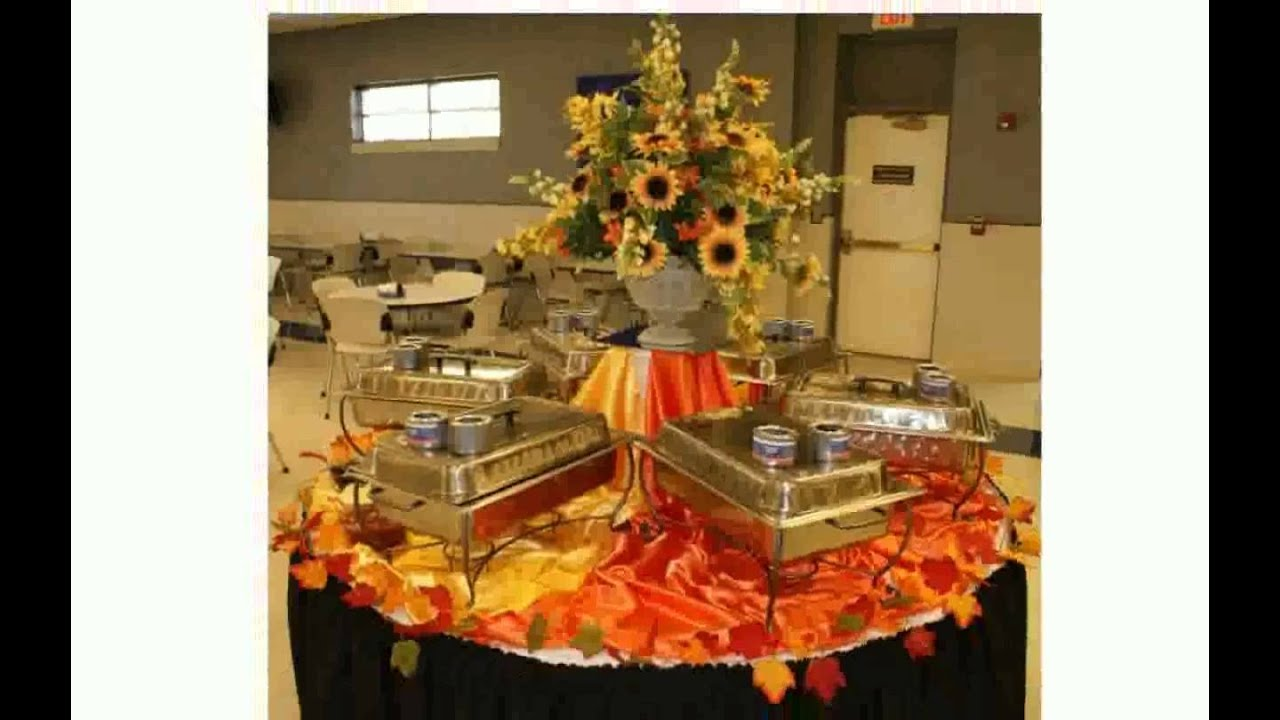 Fall table decorations ideas youtube for Modern fall table decorations