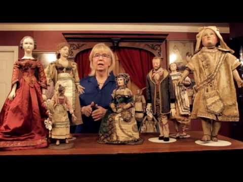 """Rare Early Continental Dolls in Theriault's """"As In A Looking Glass"""" Auction"""