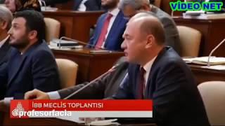 İBB Meclis Toplantısında CHP'den AKP'li Üyelere Ta