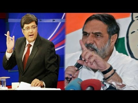 The Newshour Debate: Government firefights Gujarat praise - Full Deate (7th May 2014)