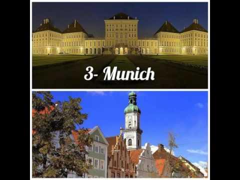 THE MOST BEAUTIFUL 10 GERMAN CITIES  -- DIE SCHÖNESTEN 10 STÄDTE DEUTSCHLANDS