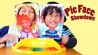 FUNNY KIDS MESSY PIE FACE SHOWDOWN FOR KIDS ! PIE ON THE FACE | KIDS CHALLENGE