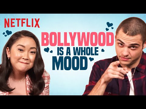 Noah Centineo & Lana Condor React To SRK & Iconic Bollywood Scenes | Netflix India