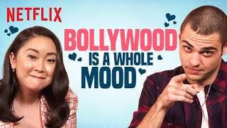 Noah Centineo & Lana Condor react to SRK & Iconic Bollywood Scenes | Netflix India