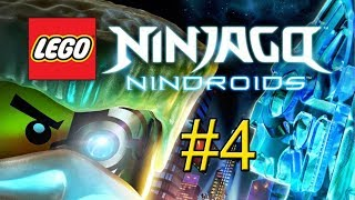 LEGO Ninjago Nindroids Video Game Walkthrough - Part 4 {PS Vita}