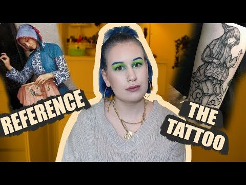 How Reference Photos Turned Into Tattoos