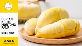 Duren Durian Monthong Montong Sulawesi 500gr