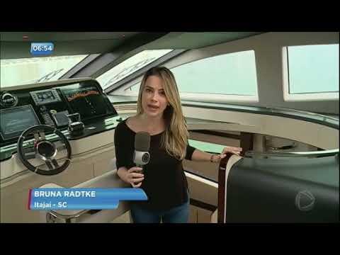 Conheça o iate de R$ 45 milhões feito no Brasil