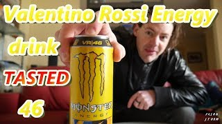 Monster energy drink Valentino Rossi edition review