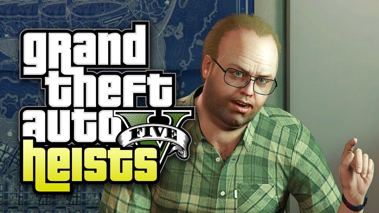 Grand Theft Auto V Heists Part 1 Scope Out Heist 1 Fleeca Bank Youtube