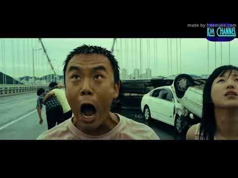 Mega Tsunami Scenes From The Film   Haeundae 2009 1080p 1