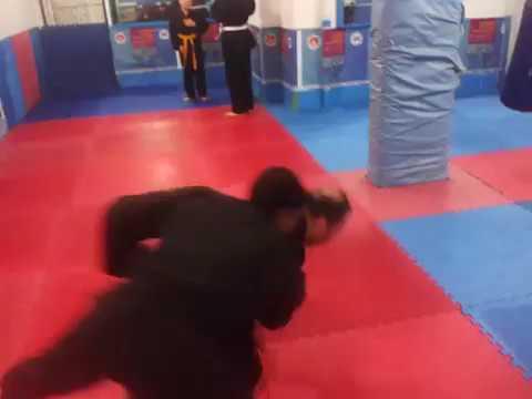Ninjutsu jutai jutsu near fight yakin dövüş teknik 30