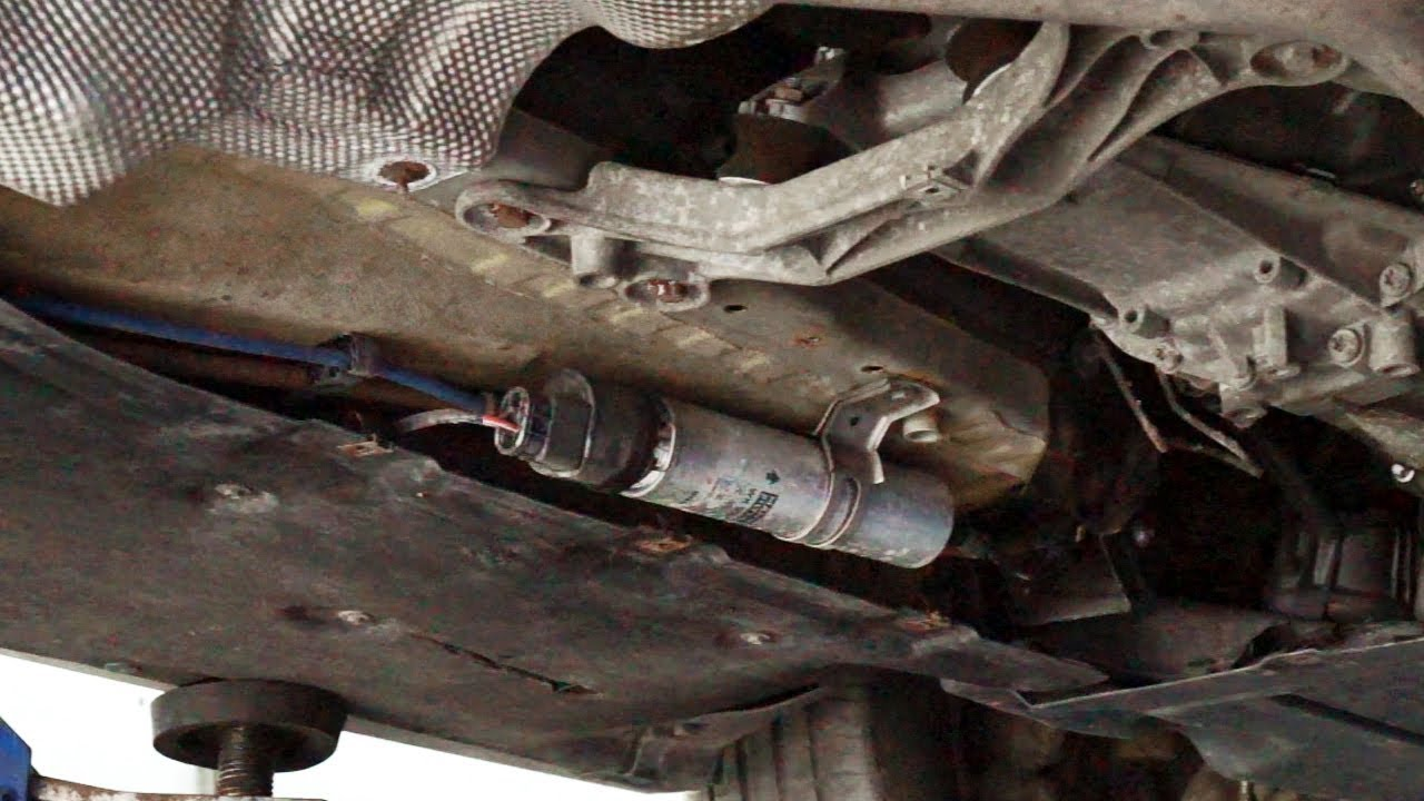 bmw 525i fuel filter location [ 1280 x 720 Pixel ]